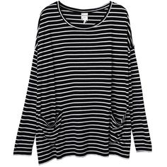 Monki Mirav top (€25) ❤ liked on Polyvore featuring tops, shirts, long sleeves, sweaters, extra long sleeve shirts, monki, long sleeve shirts, long sleeve pocket shirts and rayon tops