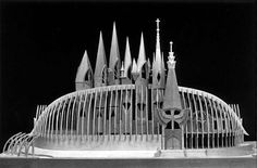 Hungarian Pavilion Seville, World EXPO, by Makovecz Imre