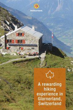 """In the Glarnerland region, hiking fans can collect stamps on the four SAC hut tours in Glarnerland and receive a free drink for their efforts. If you complete all four tours, you will be rewarded with a finisher kit and a """"hiking trophy"""". The challenge will run until summer 2022. #IneedSwitzerland #SwissAutumn📍 Glarnerland © Switzerland Tourism, Published: October 2021 Switzerland Tourism, Wine Festival, Stamp Collecting, Hiking, Challenges, Tours, Mountains, Summer, Stamps"""