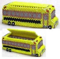 Since I used to drive one of these this is amusing.   03/26/2012 - Newsletter, Bead-Patterns.com