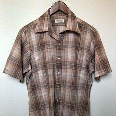 Vintage 50s Arrow Rockabilly Shirt - Men's Large DKZSkb