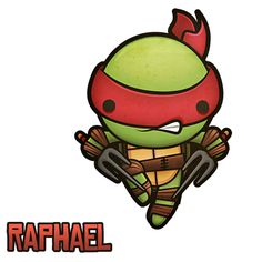 Raphael TMNT by Squid and Pig www.squidandpig.com