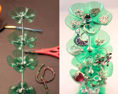 40 Cool Ways To Upcycle And Reuse Plastic Bottles Diy Projects Plastic Bottles, Plastic Bottle Crafts Flowers, Plastic Bottle Art, Reuse Plastic Bottles, Plastic Spoons, Diy Bottle, Flower Crafts, Flower Vases, Flower Pots