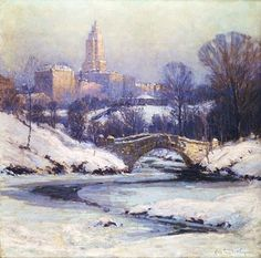 Colin Campbell Cooper (1856-1937)  American Impressionist Painter