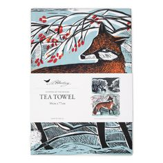Country Living / Angela Harding / Stopping by the Woods Tea Towel