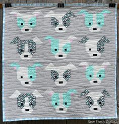 Dog Gone Cute mini | by Sew Fresh Quilts - Lorna McMahon