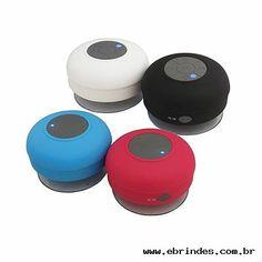 Caixa de Som com Bluetooth e Aprova Dágua