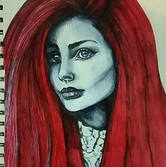 2017 by vanilla-riot on DeviantArt Follow Me On Instagram, Annie, Vanilla, Halloween Face Makeup, My Arts, Deviantart, Red