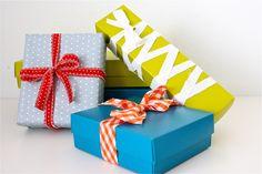 TUTORIAL: DIY Fabric Ribbon and Repurposed gift-wrap ideas | MADE