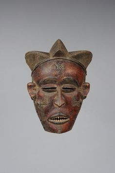 mask  Materials wood  Place of collecting Democratic Republic of the Congo  Culture Chokwe
