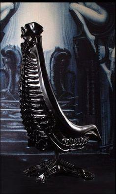 H.R. Giger Harkonnen Chair