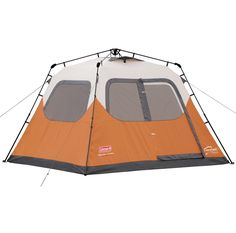 Coleman 6-person Instant Cabin Tent  2000017933 #Coleman #Dome Family Tent, Family Camping, Camping Hacks, Camping Gear, Outdoor Camping, Camping Outfits, Camping List, Camping Activities, Camping Cabins