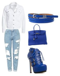 """""""Untitled #159"""" by princesssheryl1 on Polyvore featuring Filippa K, Topshop and Hermès"""