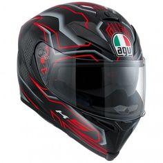 AGV Racing K-5 Deep Mens Street Sport Bike DOT Full Face Motorcycle Helmets