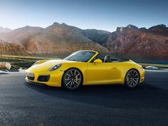 ... and the Carrera 4S Cabriolet is the convertible edition.