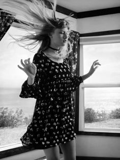 Klara Kristin - Saint Laurent SS 16 by Hedi Slimane