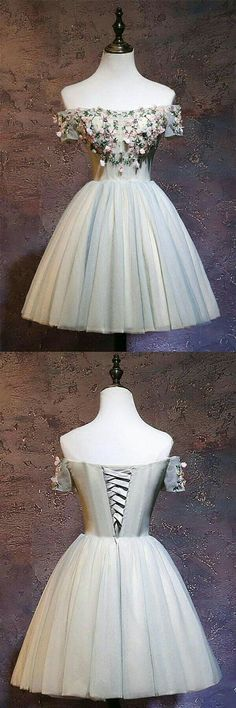 Cute tulle off shoulder short prom dress, homecoming dress,Cheap Prom Dress, Shop plus-sized prom dresses for curvy figures and plus-size party dresses. Ball gowns for prom in plus sizes and short plus-sized prom dresses for Cheap Homecoming Dresses, Hoco Dresses, Lace Evening Dresses, Trendy Dresses, Dance Dresses, Cheap Dresses, Cute Dresses, Beautiful Dresses, Fashion Dresses
