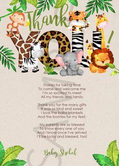 Baby Shower Items, Baby Boy Shower, Baby Shower Gifts, Baby Showers, Jungle Theme Baby Shower, Safari Baby Shower Cake, 6th Birthday Parties, 2nd Birthday, Birthday Tags