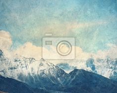 Wall Mural Mountain landscape