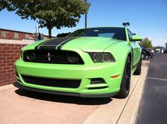 Gotta Have It Green Mustang - #northbrothersford