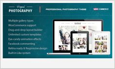 25+ Premium WordPress Templates for Photographers