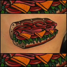 ~ New Traditional tattoo ~ snack