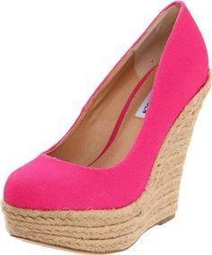 Steve Madden Women's Pammyy Wedge Pump,Pink Fabric,9 M US Steve Madden,http://www.amazon.com/dp/B0069LEQZ4/ref=cm_sw_r_pi_dp_gi0xrb06P839Z5MD