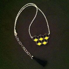 Bienvenue chez Sitroon !  Vous trouverez ici des bijoux en perles Miyuki delicas tissés à la main, perle par perle. sitroon.bijoux@gmail.com