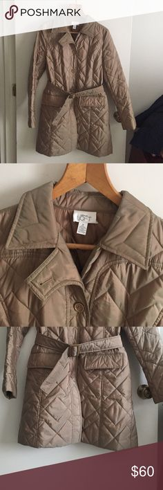 Ann Taylor LOFT quilted jacket Like new Jackets & Coats