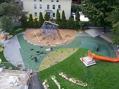 The Learning Community Playground, Central Falls, Rhode Island. Designed by Laurencia Strauss.