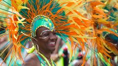 Jump up!: Caribbean Carnival parade thrilling spectators on Lake Shore Boulevard 49th annual spectacle of sound and colour transforms Lake Shore Blvd. into mass party in Toronto, Ontario, Canada.
