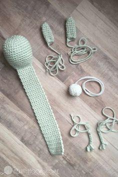 Bunny Rabbit Bookmark Crochet Pattern