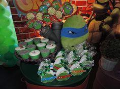Criancices Festas e Eventos   Decoração Festas Infantis Recife   Tartarugas Ninjas