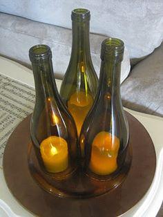 A Diamond in the Stuff: Wine Bottle Hurricanes