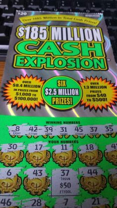 $50 winner on a $20 ticket