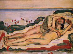 Ferdinand Hodler: Love, 1907/08.