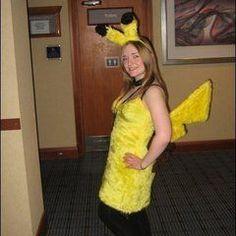 Girly Pikachu Costume