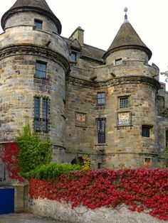 Medieval, Falkland Castle, Falkland, Fife, Scotland - Mary, Queen of Scots lived here as a child