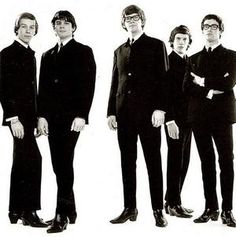 The Zombies - She's not there....  I remember driving to Toronto with Marc - he played this song over and over.