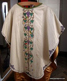 Chasuble by Leo Peters kept at St. Lambertus,Horst, Netherlands.