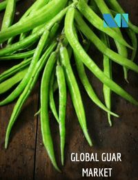 Global Guar Market - Sector-wise, oil and gas industry holds 60-65% of the global demand, followed by food (25-30%) and pharmaceuticals. Guar was the major export commodity of India during 2011-13; in fact, export of guar products reached a record high of USD 4 billion during 2012-13.
