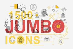 Jumbo Line Icons Pack by Jumbo Icons on @creativemarket
