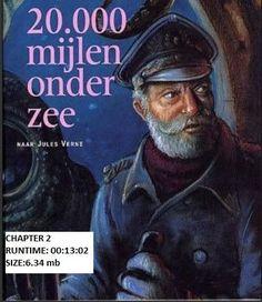 Chapter 2 Dutch Language Audiobook 20.000 Mijlen onder Zee by Jules Verne