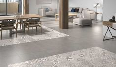 Manor patchwork tiles are a wonderful contemporary mix of patterns, each tile has a composition of four patterns in mellow taupe and grey tones. This simply stunning range consists of various patterns, each box will be a random mix of these designs, once placed together makes a continuous design without visible repetitions. This porcelain tile is perfectly designed for creating feature walls and floors. These tiles are excellent for use in high-traffic areas including commercial environme...