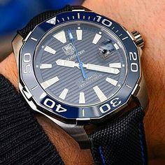 68c0857a5d5 Tag Heuer aquaracer calibre 5 automatic Dream Watches