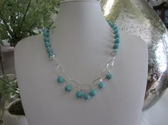 New Item...Unique Custom Designed Turquoise & by JKCustomDesigns