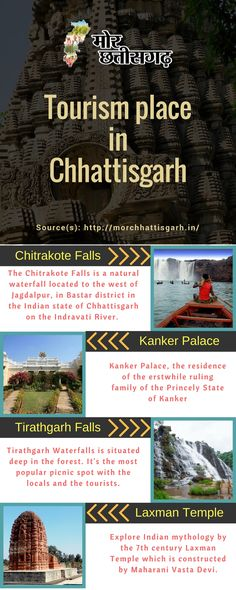 The Chitrakote Waterfalls is a natural waterfall located to the west of Jagdaplur, in Bastar District in the indian state of Chhattisgarh on the Indravati River.  Source(S): http://morchhattisgarh.in/