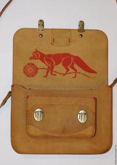 Купить Сумка RNm53s295 - рыжий, сумка ручной работы, сумка, сумка женская