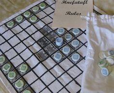 Hnefatafl  King's Table  Viking Board Game by tashsfaecritters, $20.00
