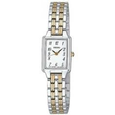 Hoppe Jewelers - SEIKO LDS TT BRAC/RECT WHT DIAL WATCH, $146.0 (http://www.hoppejewelers.com/seiko-lds-tt-brac-rect-wht-dial-watch/)